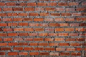 Red Brick Texture Surface