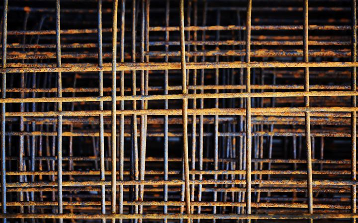 Rusty Steel, Construction Material - casualforyou