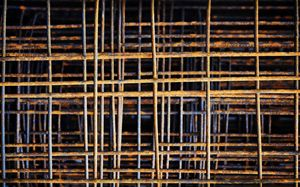 Rusty Steel, Construction Material