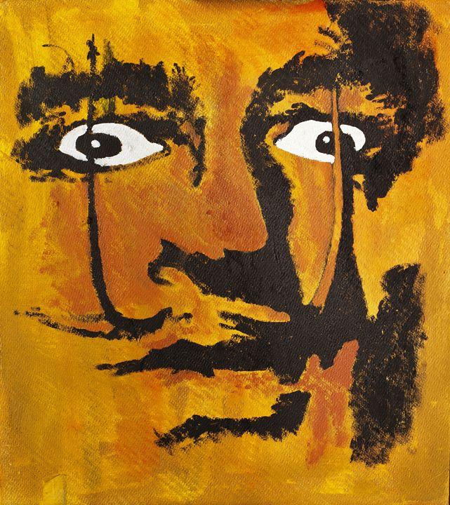 Salvador Dali portrait - clifford shirley