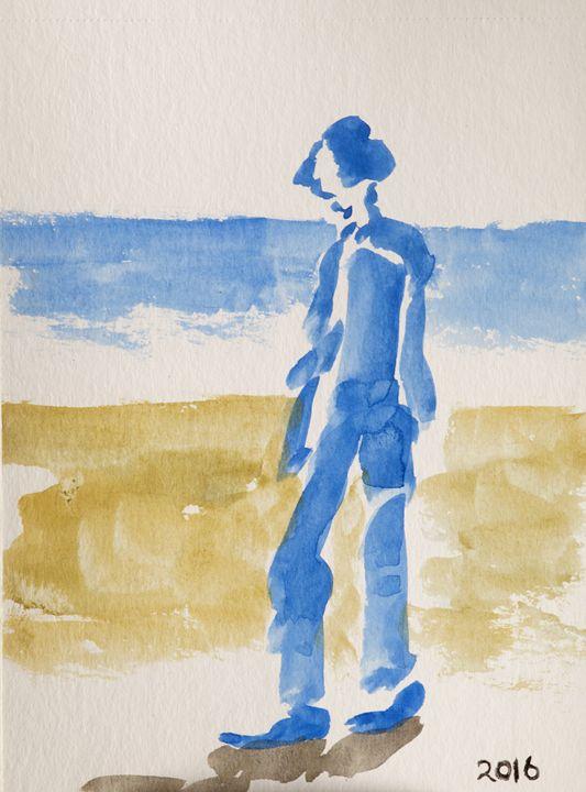 Boy by the sea - clifford shirley