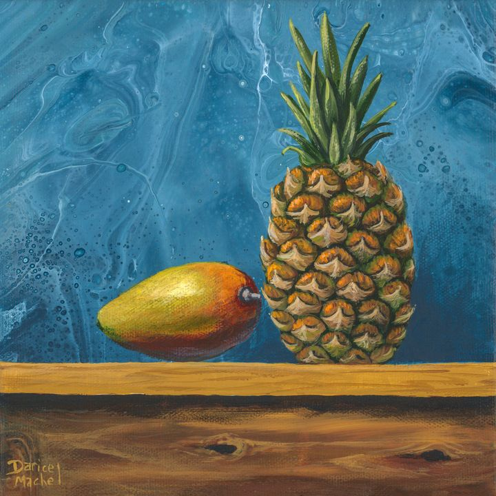 Mango and Pineapple - Darice Machel McGuire