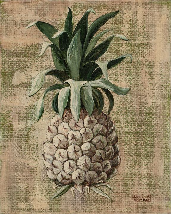 Old Fashion Pineapple 2 - Darice Machel McGuire