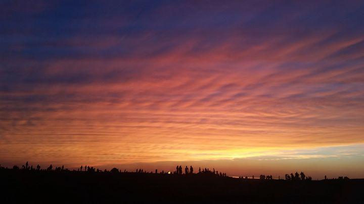 4th of July sunset - RACHEL M