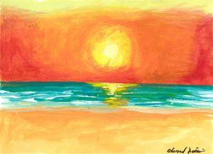Sunset at Ocean Shores
