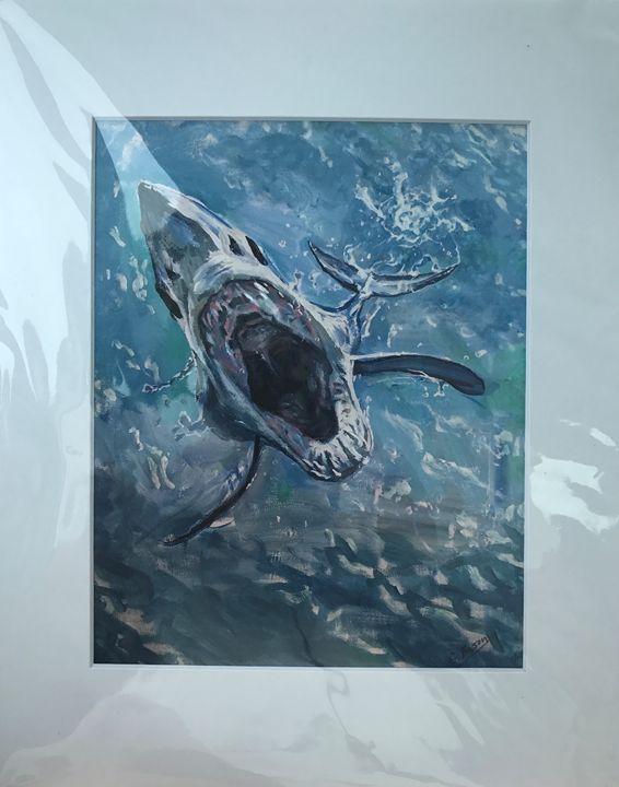 Mako Jump - George Bason Art