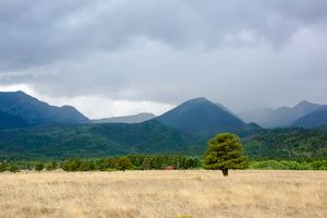 Rainy Day in The Wet Mountain Valley