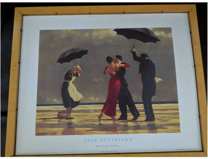 The Singing Butler by Jack Vettriano - rickroadway