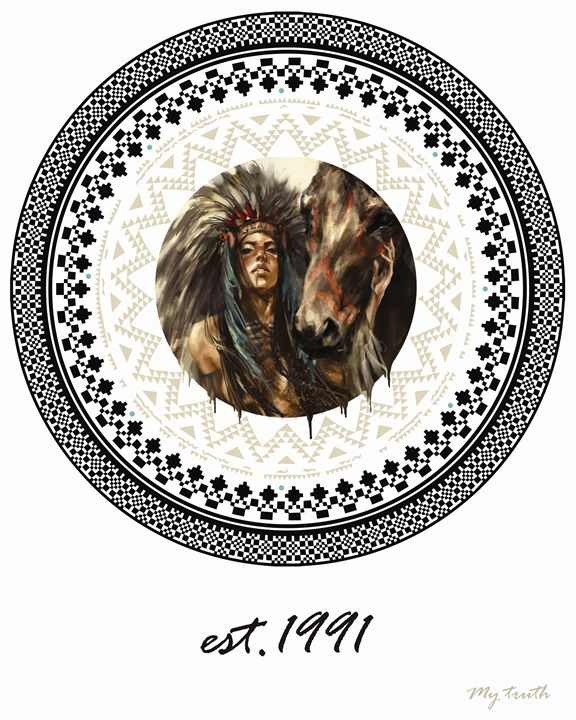 Native Woman_My TRUTH - T.R.U.T.H