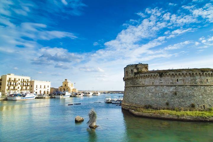 Castle in the blue - Giuseppe R.F. Seccia - Gallery
