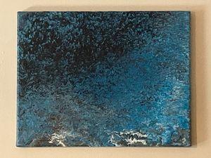 Acrylic Fluid Art Painting