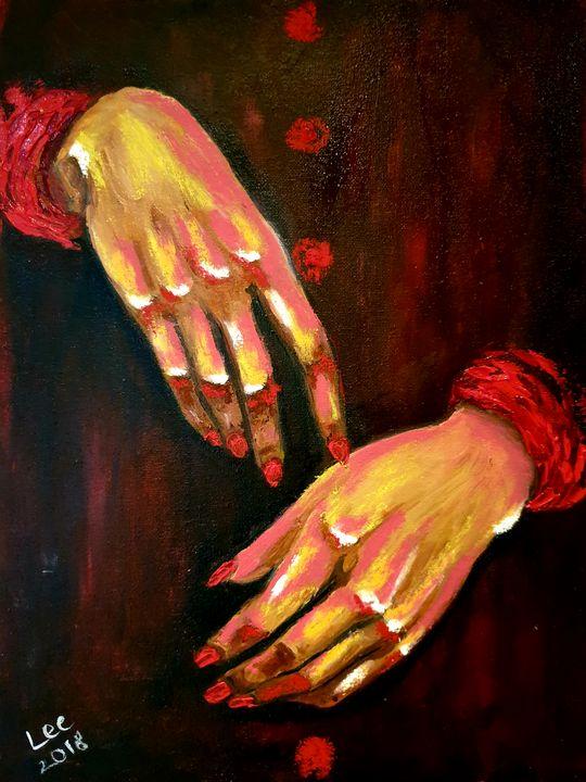 Red Handed - leezee's