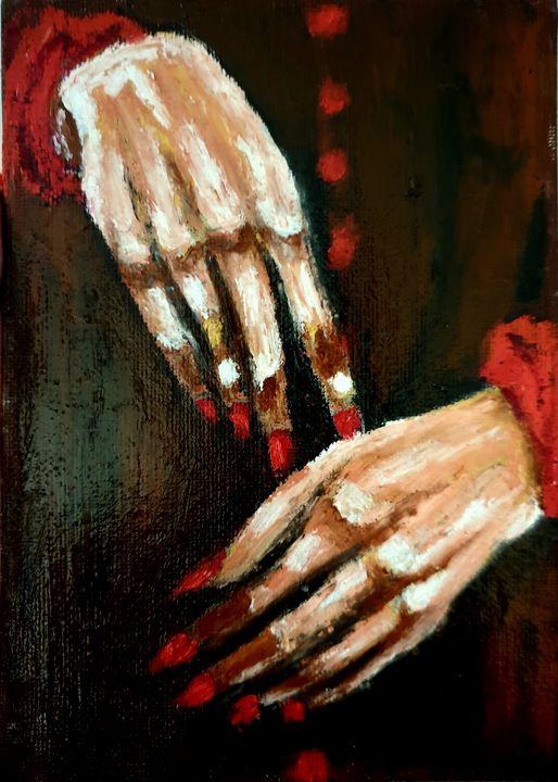 Red Handed No. 2 - leezee's