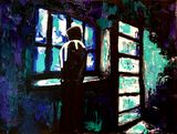 Original Semi Abstract Painting