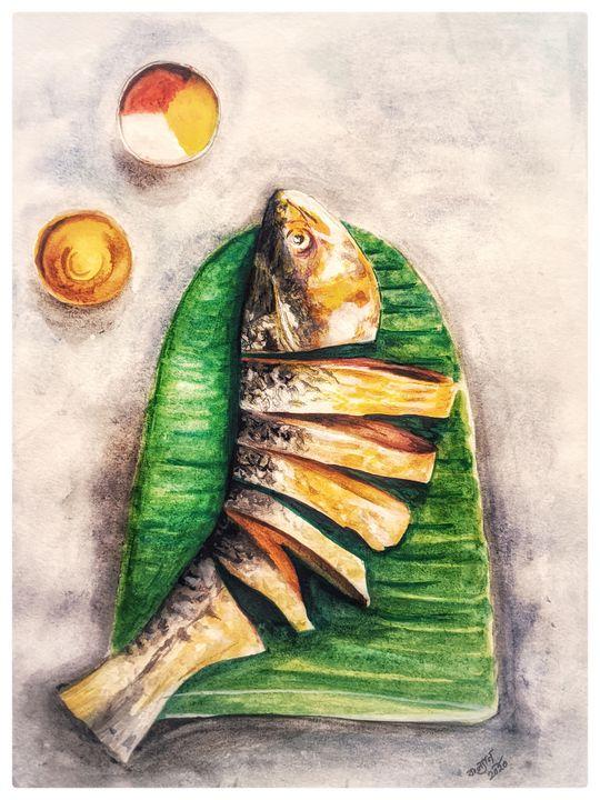 Fish chops - Kalyan Chatterjee