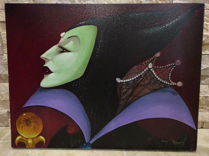 The Accursed Gift (Maleficent) - Gabriel Disney Art