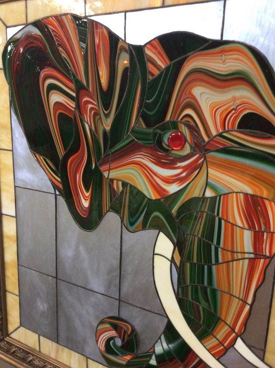 Magic Elephant. - Blashchuk Art Studio
