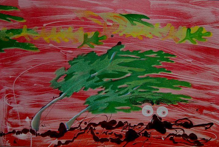 Windy Weather - LeRoy Jacks Unique Art