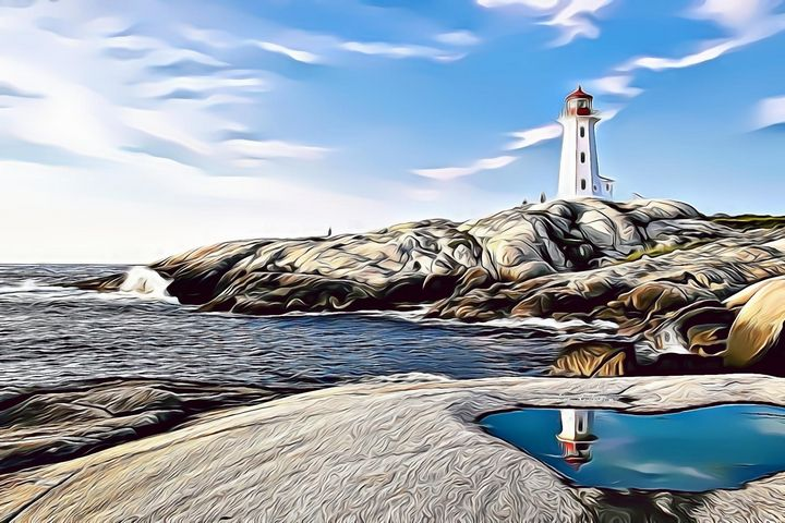 THE LIGHTHOUSE OF MY DREAMS - Leo Rodriguez