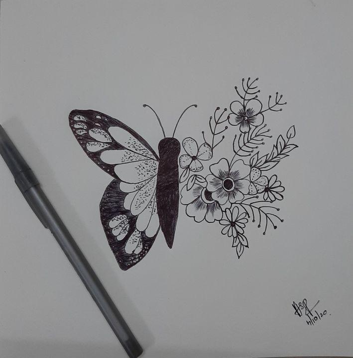Random butterflies courtesy from pin - Hotha's