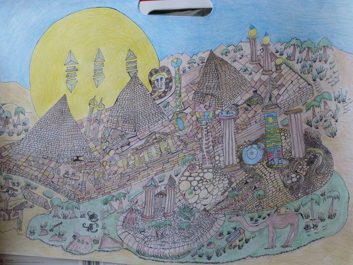 part of same art work - original art by jon q
