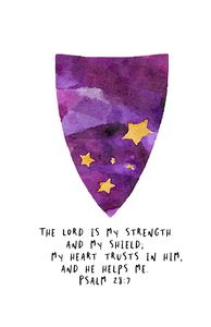 Psalm 28:7 The Lord is my strength