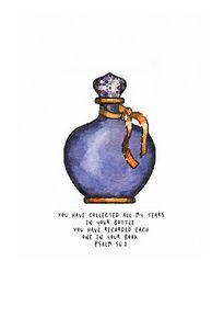 Tears in a bottle, psalm 56:8