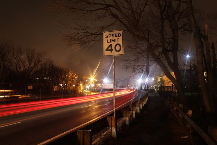 Watch your speed - Photography Canvas