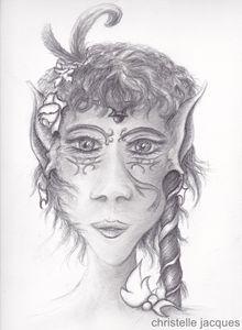 Portrait de fée