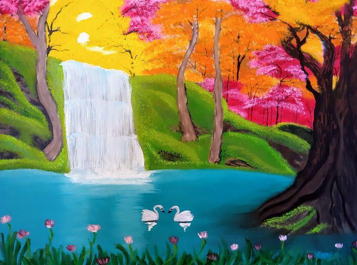 Paradise - Kami O's Canvas