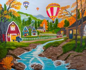 Life On The Farm - Kami O's Canvas