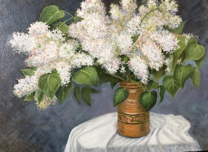 White lilac - Elena Bond