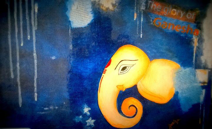 Lord Ganesha - Ankita's Art Work