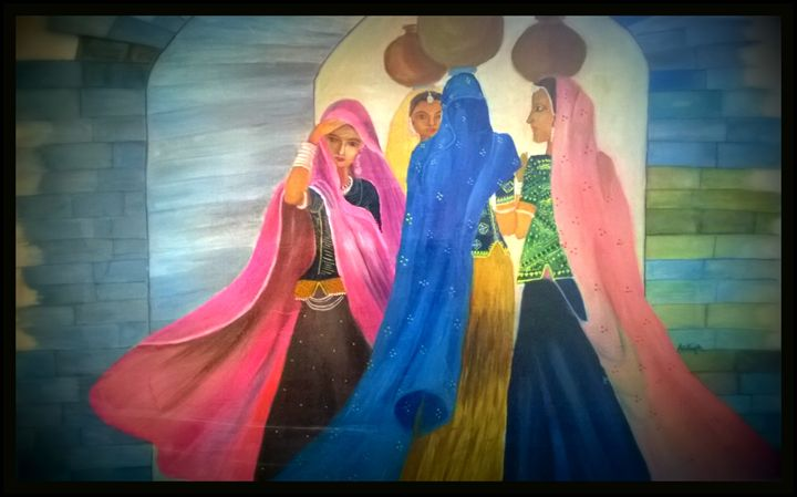 Women Empowerment - Ankita's Art Work