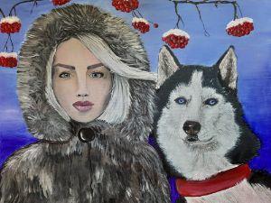 Russian beauty - Art by Margo