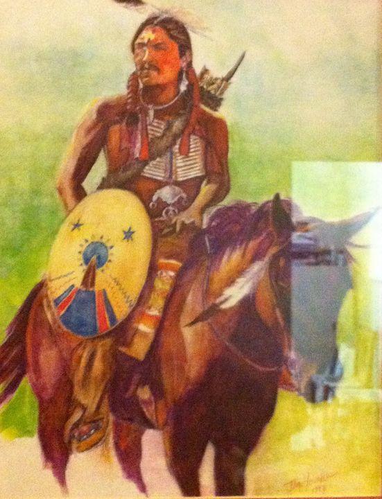Buffalo Hump-Comanche - JeffYoungArt