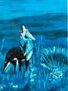 Howling Blue Moon