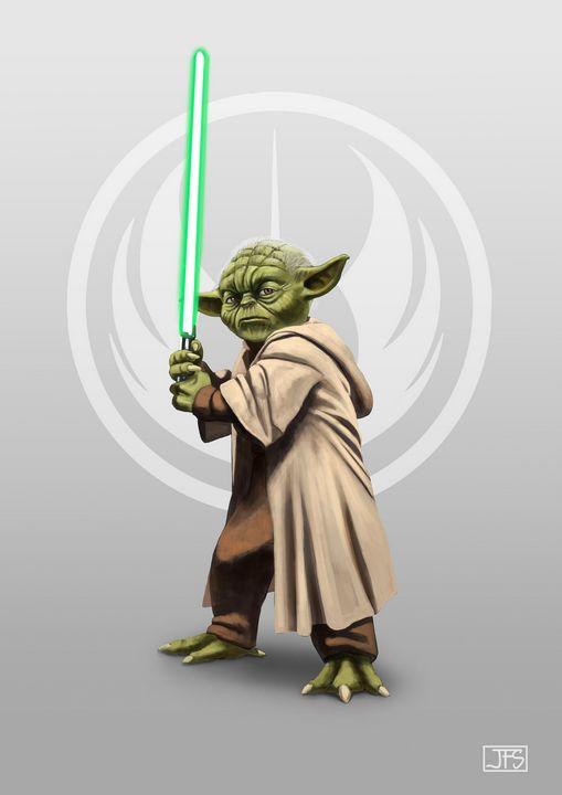 Yoda - Santacrew Art