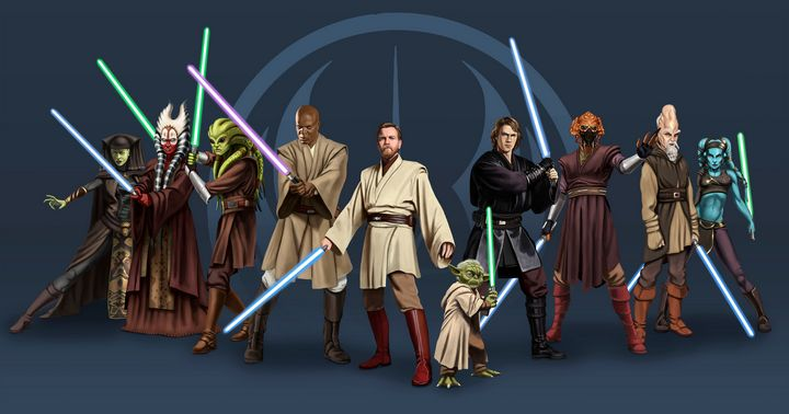 Jedi Council - Santacrew Art