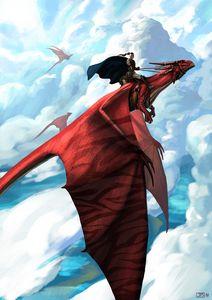 Shadow Crimson Dragon