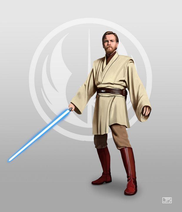 Obi-Wan Kenobi - Santacrew Art