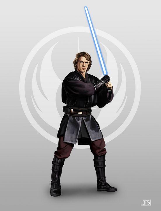 Anakin Skywalker - Santacrew Art
