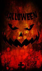 Halloween illustration pumpkin
