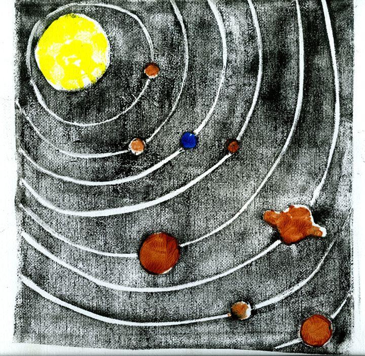 Solar System - Liat Visual