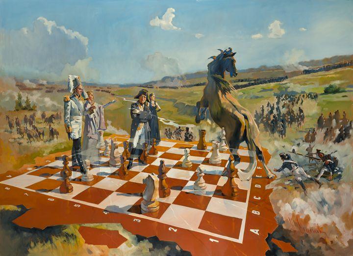 Battle of Borodino - Andrey Esionov