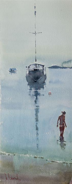 Morning at Sea - Andrey Esionov