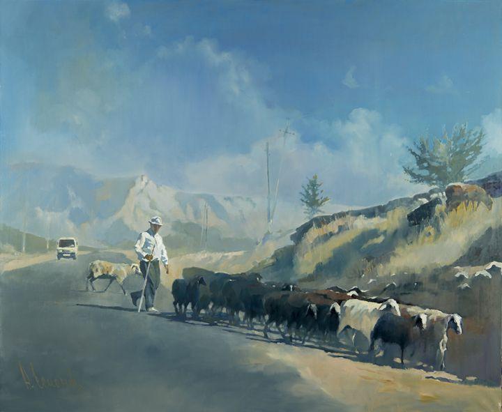 Road to Sukok - Andrey Esionov