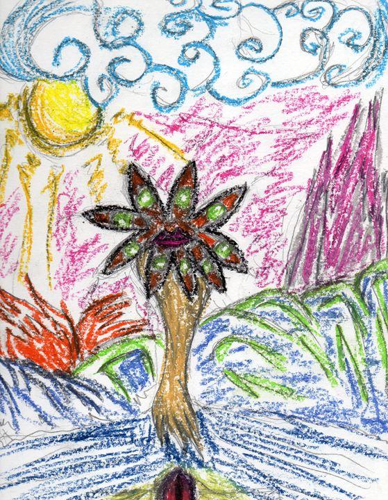 Green Eyes - My Art - F.M
