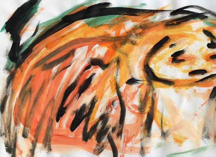 Tangerine Lost - My Art - F.M
