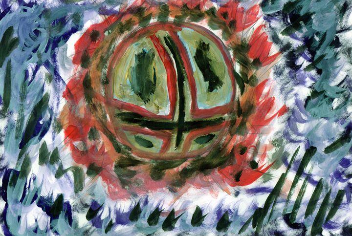 When Worlds Collide. - My Art - F.M